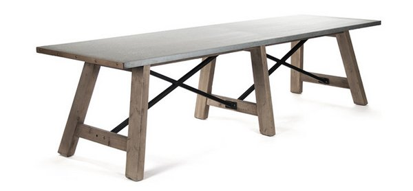 20 Gorgeous Extra Large Rectangular Dining Tables Home Design Lover