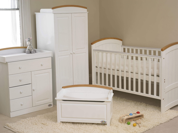 20 beautiful white nursery furniture home design lover - Baby bedroom furniture sets ...