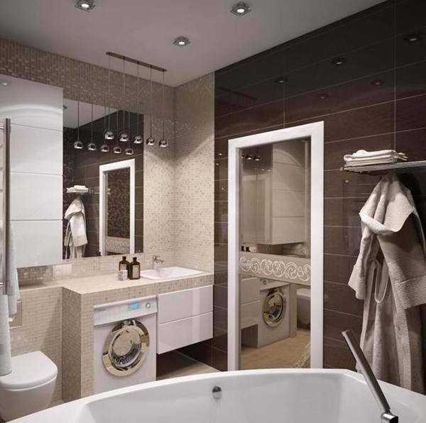 How To Install A Mirror In Bathroom: Tips To Avoid A Cramped Feel For A Small Bathroom