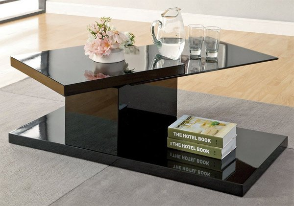 20 Inimitable Styles Of Swiveling Glass Coffee Table Home Design Lover