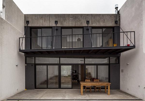 ventilated wood veranda