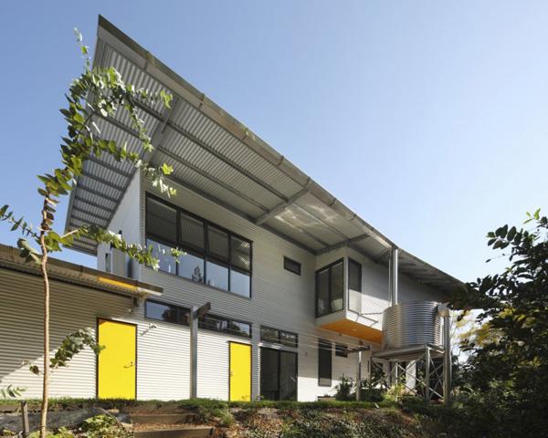 galvanized steel home