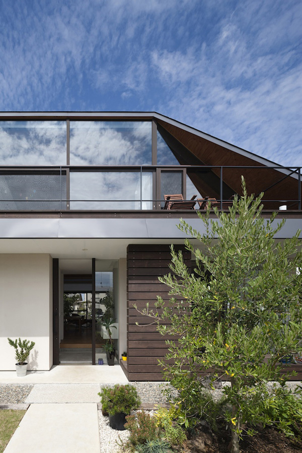 Modern Hipped Roof