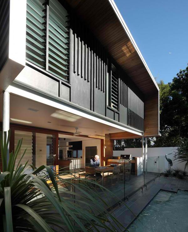 pool glass railings