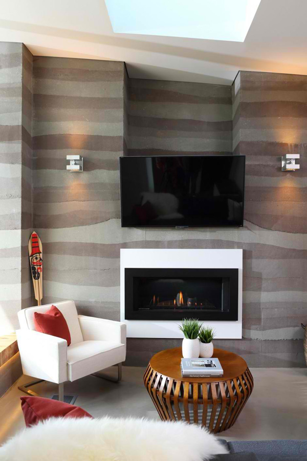 fireplace tv design