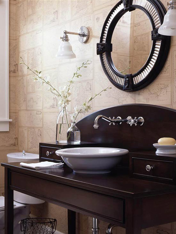 porcelain bathroom sinks