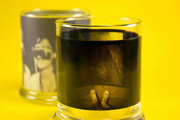 Film Negative Candle Holders