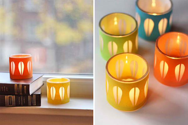 Cathrineholm Candle Holders: