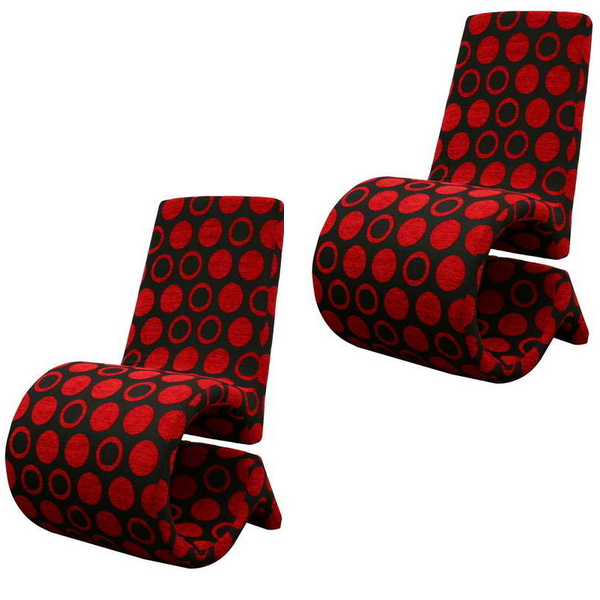 20 Red Living Room Chairs That Will Complete Your Space