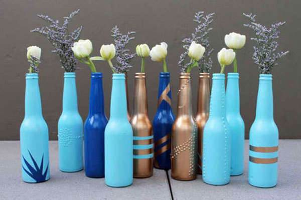 Bottle Bud Vases