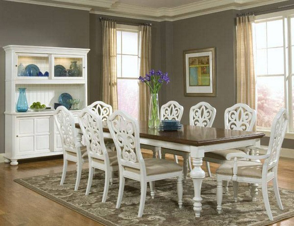 20 pretty beach cottage furniture for dining rooms home for Cottage style furniture