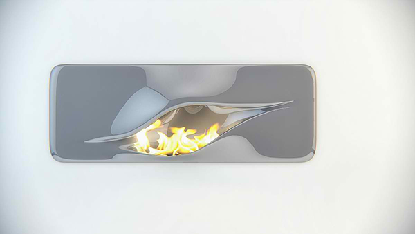 Mvtikka Fireplace A Futuristic Contemporary Addition To