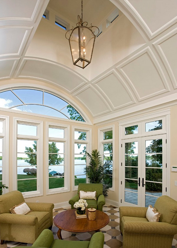 20 superb ideas on how to style your ceilings home for Barrel ceiling ideas