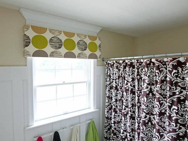 fun color cornice window improvement