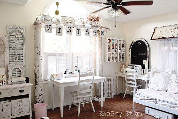 Add creative window treatments