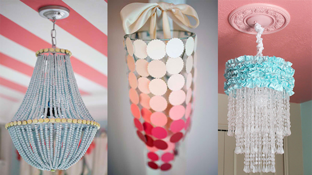 22 DIY Chandeliers That Illuminate With Beauty