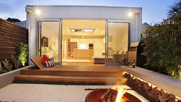 Esplanade east a compact modern garden design project in australia