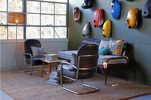vintage living room decors