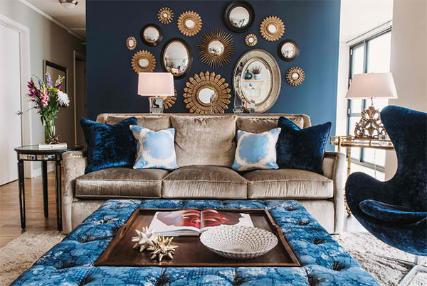 22 Living Rooms With Metal Wall Decorations Home Design Lover