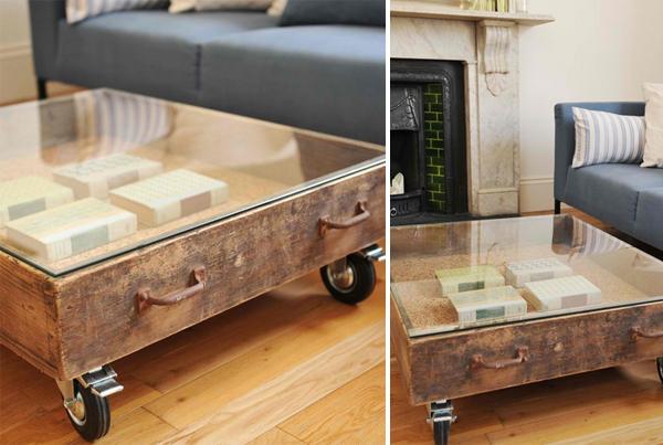 Vintage Drawer Table