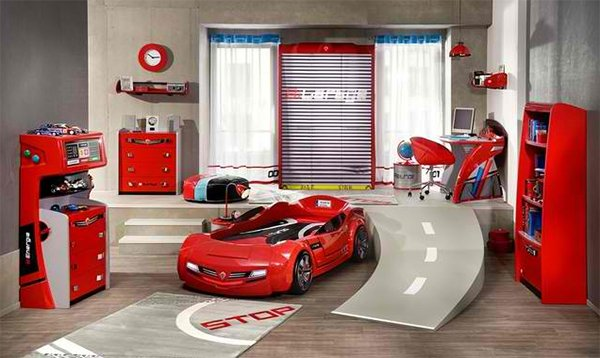 Need for Sleep Collection Kids Car Bedroom