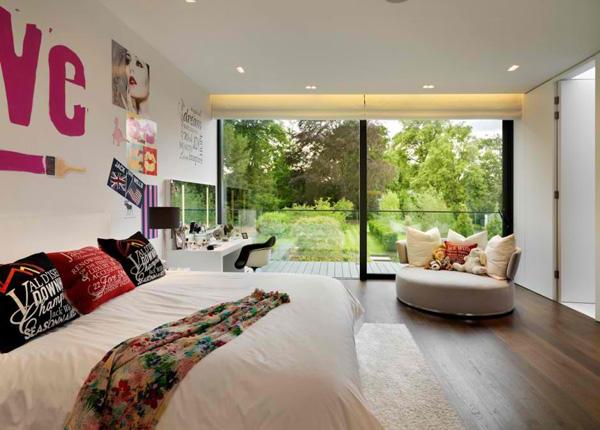 pop bedroom design