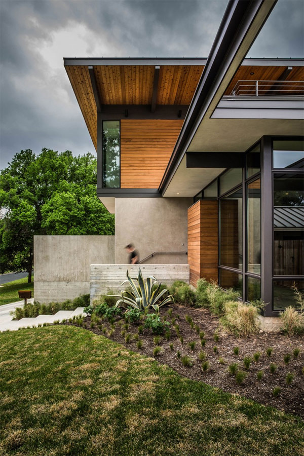 barton hills residence Parallel Architecture