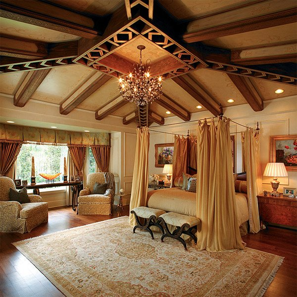 Luxury Mansion Master Bedroom Interior Design: 20 Luxurious Design Of Mediterranean Bedroom