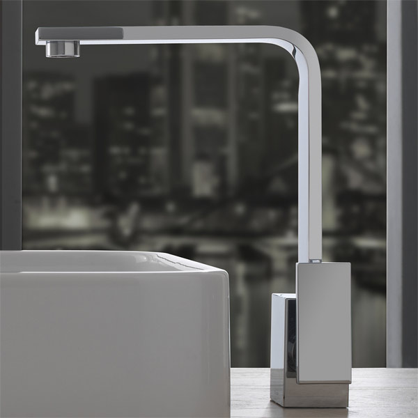 targa single handle Bathroom faucets featured
