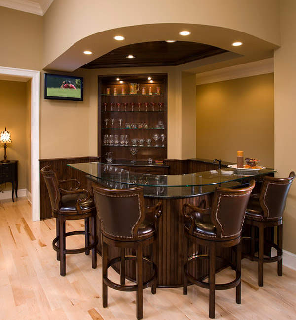 Bar Top Design Ideas: 20 Designs Of Home Bar That Brings Entertainment