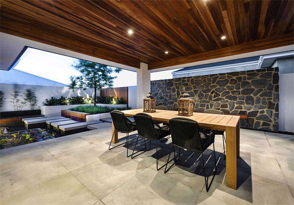 Display Serenity In Japanese Inspired House Azumi In