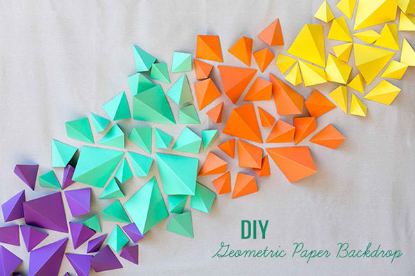20 Diy Geometric Wall Art Decorations For A Vivid Modern