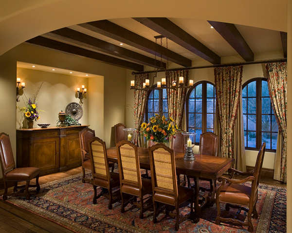 20 Outstanding Tuscan Dining Room Decors Home Design Lover