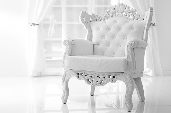20 Neat And Sophisticated White Living Room Chairs Home
