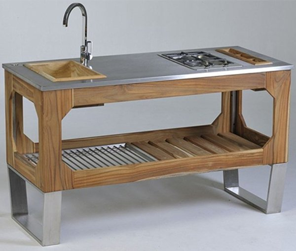 free standing sink kitchen 20 wooden free standing kitchen sink home design lover 3577