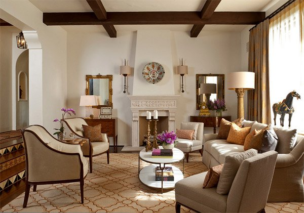 20 Luxurious Design of a Mediterranean Living Room | Home ...