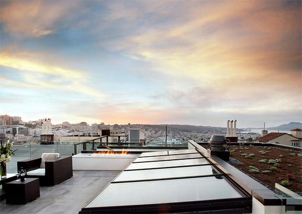 sliding roof glass