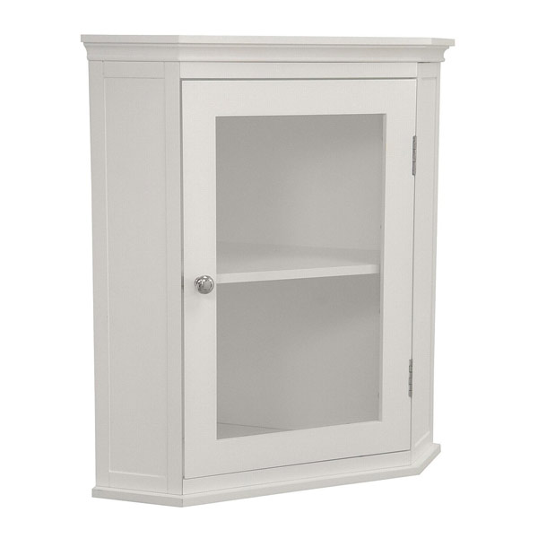 bathroom corner wall cabinet 20 corner cabinets to make a clutter free bathroom space 11456