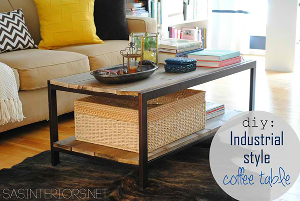DIY: Modern Coffee Table
