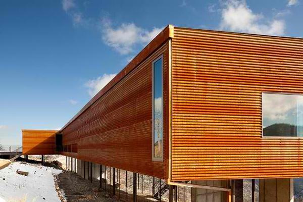 exterior wood planks