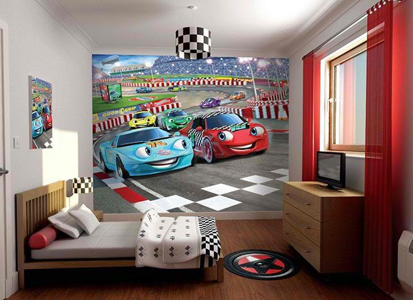 Car Racers Walltastic