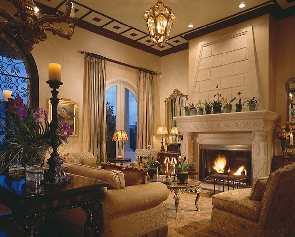 20 luxurious design of a mediterranean living room home for Mediterranean living room