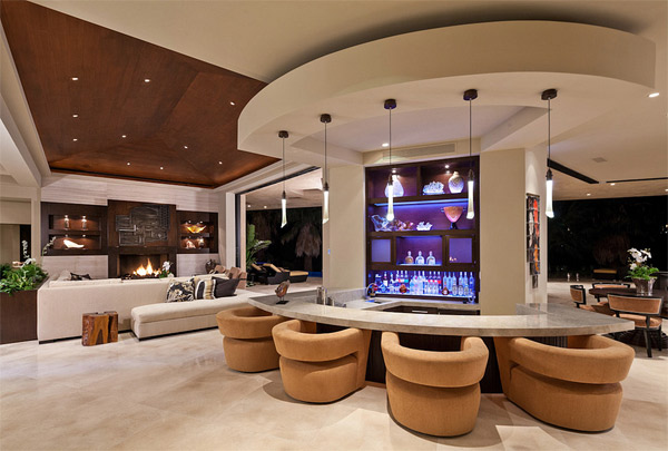 20 Designs of Home Bar That Brings Entertainment | Home Design Lover