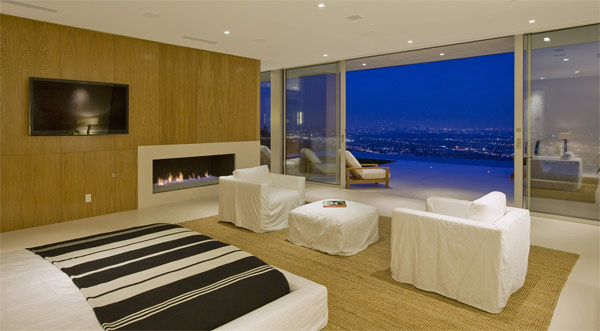 fireplace bedroom