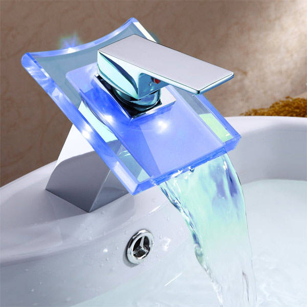 LED Bathroom faucets featured