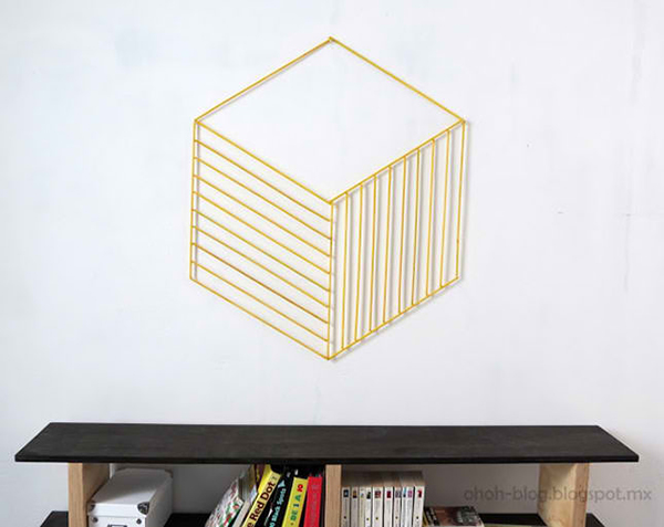Wood Stick Wall Art
