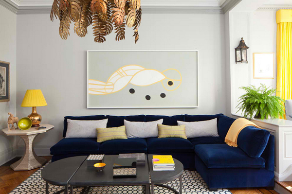 living room blue and yellow 20 amazing blue black white yellow living rooms home 19033