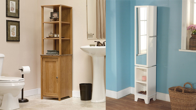 20 Corner Cabinets To Make A Clutter Free Bathroom Space Home Design Lover