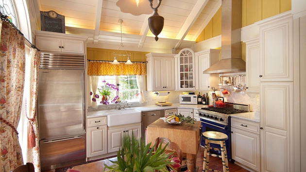 country home kitchen ideas 20 simple but amazing country kitchen decors home design 5979
