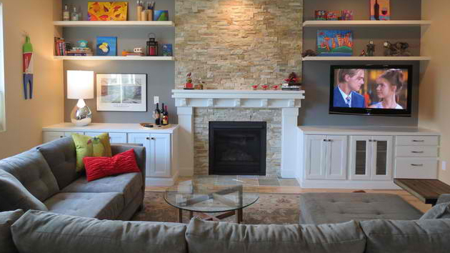 Before And After Lana Carlene S Beautiful Living Room
